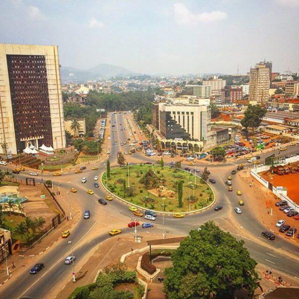 カメルーンの首都ヤウンデ