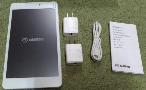 ALLDOCUBE iPlay8 Pro開封レビュー2